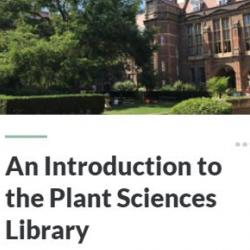 Plant Library Induction